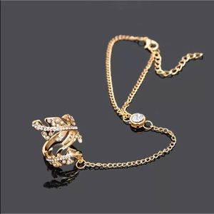 Jewelry - Gold or Silver Slave Bracelet